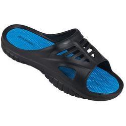 Klapki basenowe SPOKEY Merlin Czarno-Niebieski (rozmiar 40)