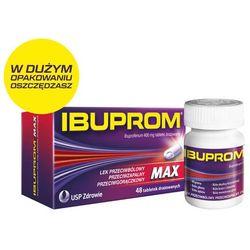 IBUPROM Max x 48 tabletki - 48 tabletek