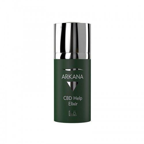 Serum do twarzy, Arkana Cannabis Therapy, kanabisowy elixir z Cebidolem, 15ml