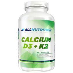 Witaminy ALLNUTRITION Calcium D3 + K2 90 kaps Najlepszy produkt