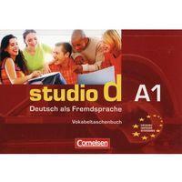 Książki do nauki języka, studio d A1 Vokabeltaschenbuch (opr. miękka)