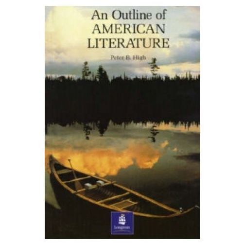 Książki do nauki języka, An Outline Of American Literature (opr. miękka)