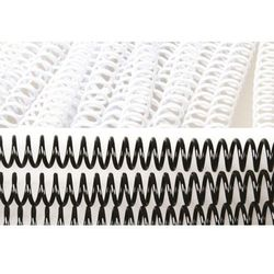 Grzbiety do bindowania spiralne, białe, 20 mm, 100 sztuk, oprawa do 160 kartek - Super Ceny - Rabaty - Autoryzowana dystrybucja - Szybka dostawa - Hurt