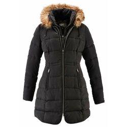 Krótki płaszcz z kapturem, na podszewce bonprix Krótki płaszcz z kapturem czar
