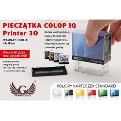 Pieczątka samotuszująca COLOP Printer 30 - wymiar płytki tekstowej: 47 x 18mm