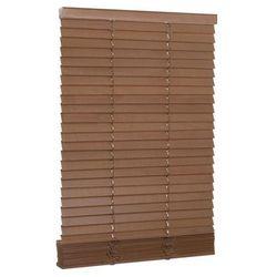 Żaluzja drewniana 50 x 150 cm dąb 27 mm INSPIRE