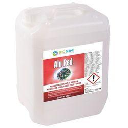 ECO SHINE -ALU RED 5L -Preparat z krwistoczerwonym efektem do usuwania metalicznych zanieczyszczeń z felg i lakieru.