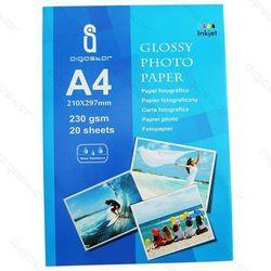 AIGOSTAR papier fotograficzny A4 230 g/m błyszczący do drukarek atramentowych (zamiennik)