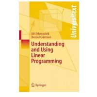 Informatyka, Understanding and Using Linear Programming
