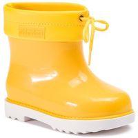 Kalosze dziecięce, Kalosze MELISSA - Mini Melissa Rain Boot Bb 32424 White/Yellow 52010