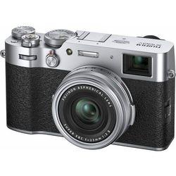 FujiFilm aparat fotograficzny kompaktowy X100V Silver