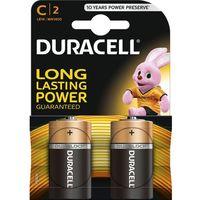 Baterie, 2 x bateria alkaliczna Duracell LR14 C (blister)