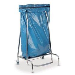 Stojak na worek na odpady z przyciskiem nożnym | 420x580x(H)960mm