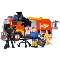 Jeżdżące dla dzieci, Pojazd strażak sam hollywood jupiter z figurką