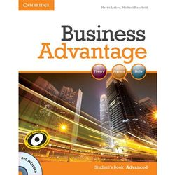 Business Advantage Advanced Student's Book (podręcznik) with DVD (opr. miękka)