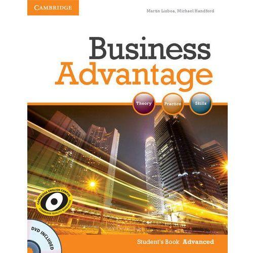 Książki do nauki języka, Business Advantage Advanced Student's Book (podręcznik) with DVD (opr. miękka)