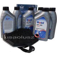 Oleje przekładniowe, Filtr oraz olej skrzyni biegów Mobil ATF320 Ford Mustang 1996-2004