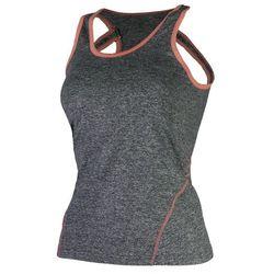 ROGELLI ROMILDA damska koszulka sportowa/ top 050.408, kolor: szary Rozmiar: S,rogelli-romilda-050-408-szary