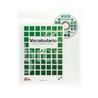 Książki do nauki języka, Vocabulario De las palabras al texto A1 + CD (opr. miękka)