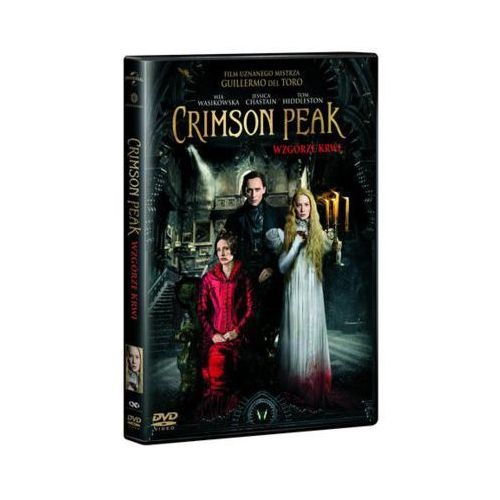 Horrory, Crimson Peak Wzgórze krwi - Matthew Robbins, Guillermo del Toro OD 24,99zł DARMOWA DOSTAWA KIOSK RUCHU