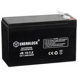 Akumulator ENERBLOCK AGM JS12-7.2 12V 7,2 Ah