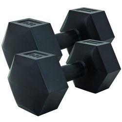 Spokey MONSTER - Zestaw hantli sześciokątnych 6 kg - 6 kg