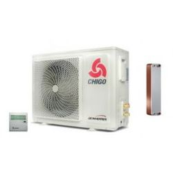 Pompa ciepła Chigo CKRS X6.0W3A/LH z wymiennikiem SPLIT