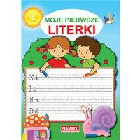 Książki dla dzieci, Moje pierwsze literki (opr. miękka)