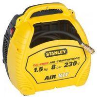 Sprężarki i kompresory, Kompresor bezolejowy Stanley AIR KIT