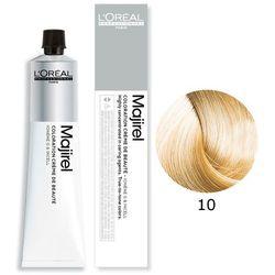 Loreal Majirel | Trwała farba do włosów - kolor 10 bardzo bardzo jasny blond 50ml