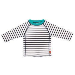 LÄSSIG Boys Koszulka do pływania z długim rękawem Splash & Fun Stripes blue