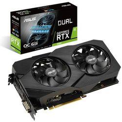 Asus Karta graficzna GeForce RTX 2060 DUAL OC 6G EVO GDDR6 192BIT DP/HDMI*2/DVI-D