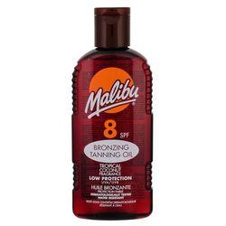 Malibu Bronzing Tanning Oil SPF8 preparat do opalania ciała 200 ml dla kobiet