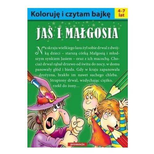 Książki dla dzieci, Koloruję i czytam bajkę - Jaś i Małgosia - Praca zbiorowa (opr. broszurowa)