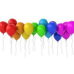 Balony lateksowe pastelowe mix kolorów - 11 cali - 100 szt.
