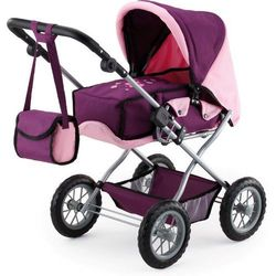 Bayer Design Wózek dla lalek Kombi Grande, różowy/fioletowy - BEZPŁATNY ODBIÓR: WROCŁAW!