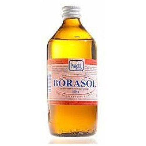 Środki dezyfekujące, Borasol rozt.do stos.na skórę 0,3 g/g 500 g