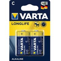 Baterie, Bateria VARTA Longlife LR14/C (2 szt.) + Zamów z DOSTAWĄ JUTRO!