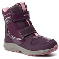 Kozaki dziecięce, Śniegowce GEOX - J N. Alaska G. B Wpf A J948BA 050FU C8224 D Purple/Pink