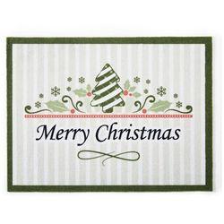 """Wycieraczka """"Christmas"""" bonprix zielony"""