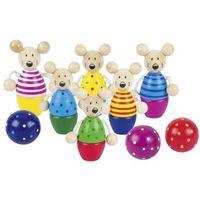 Gry dla dzieci, Kręgle Myszki - Goki