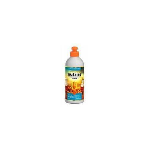 Odżywianie włosów, Novex Argan Oil, odżywka nawilżająca bez spłukiwania, 300g
