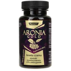 Pharmovit Aronia Gold (25% antocyjanów) - 60 kapsułek
