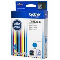 Tusze do drukarek, BROTHER Tusz Niebieski LC525XLC=LC-525XLC, 1300 str.- wysyłka dziś do godz.18:30. wysyłamy jak na wczoraj!
