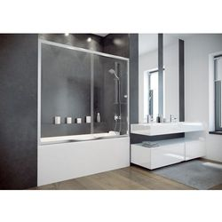 Besco Duo Slide II parawan nawannowy 170 cm szkło przezroczyste DDS-II-170