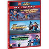 Pakiety filmowe, FILM LEGO® LIGA SPRAWIEDLIWOŚCI: KOLEKCJA 3 FILMÓW