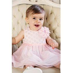 Sukienka niemowlęca na Chrzest 6K38AK Oferta ważna tylko do 2031-05-20
