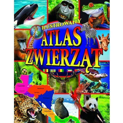 Przewodniki turystyczne, Ilustrowany atlas zwierząt + zakładka do książki GRATIS (opr. twarda)