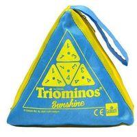 Gry dla dzieci, Triominos Sunshine - niebieski - Goliath Games