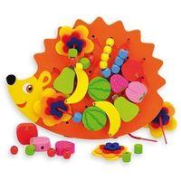 Kreatywne dla dzieci, TOP Bright Nauka wiązania Jeżyk z koralikami